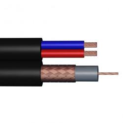 Câble coaxial combiné à...