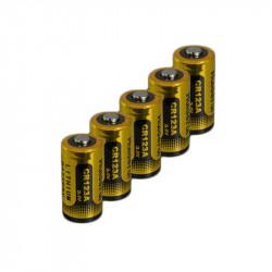 Pile lithium CR123A - 3V