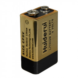 Pile 9V Lithium