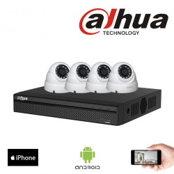 Kit vidéosurveillance 4MP...