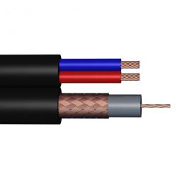 Cable coaxial combiné à...