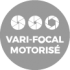 Vari-focal Motorisé, 2.7~12mm